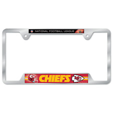 Kansas City Chiefs License Plate Frame Metal