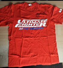 Signed Genuine Official UFC The Ultimate Fighter MMA Memorabilia TUF T-Shirt