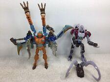 Transformers Beast Wars Lot Airazor & Ramulus Hornes Transmetal Deluxe Class