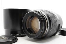[MINT CLA'd] Canon EF 100mm f/2.8 Macro USM AF Lens + Hood ET-67 From Japan