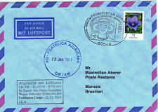 Erstflug Lufthansa-Cargo nach Manaus, 2011