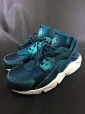 Nike Wmns Air Huarache Run SE (Metallic Dark Sea Midnight Turquoise Washed Teal)