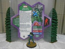 Heroscape Custom She-Hulk Double Sided Card & Figure w/ Sleeve Marvel