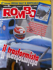 ROMBO n°4 1992 Speciale Rally di Montecarlo - Alain Prost   [P70]