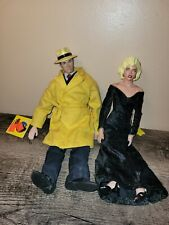 Vtg Applause Dick Tracy & Breathless Mahoney 10� Madonna Dolls Pair with Tags!