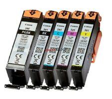 5 Cartucce ORIGINALE Canon PGI580 CLI581 Pixma TR7550 TR8550 TS6150 TS6151 TS705