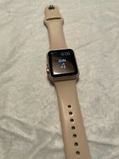 Apple Watch Series 1 - 38mm - Rose Gold - Womens - GPS
