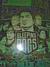 Sleeping Dogs (Microsoft Xbox 360, 2012) with manual and case