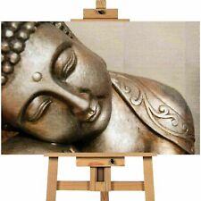 PEACEFUL BUDDHA Contemporary Canvas Print Wall Art