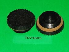 2 OEM HOMELITE A70446 black fuel gas oil fill cap XL2 XL Super2 internal thread.