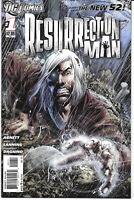 Resurection Man New 52 #1 2011 NM 1St. Print DC Comics Free Bag/Board