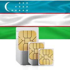 Usbekistan Prepaid Daten SIM + 2000 MB für 30 Tage