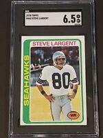 1978 Topps #443 Steve Largent SGC 6.5