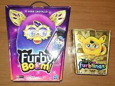 Furby Boom serie Cristallo Crystal occhi led eyes 2015 + Furblings 2014