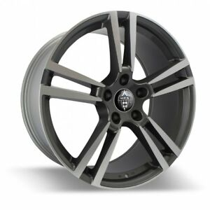 PORSCHE CAYENNE 2010 22 INCH 5/130 FITMENT WHEELS AND TYRES MACHINED FACE