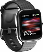 Smart Watch Virmee VT3 Fitness Tracker with Heart Rate Monitor Blood Oxygen M...