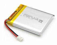 2 PCS 3.7V 1600mAH 704050 LiPo Li-ion Polymer Rechargeable Battery with Cable