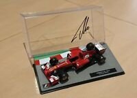 FERNANDO ALONSO SIGNED 2013 SCUDERIA FERRARI F1 MODEL 1:43 VERY RARE UNIQE