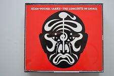 JEAN-MICHEL JARRE the concerts en Chine 2 CD FATBOX signifiant West Germany no IFPI
