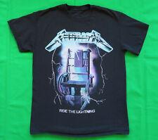 Metallica T Shirt Ride The Lightning Retro Classic Logo