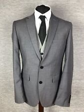 Burton Blazer Jacket 40R Slim Fit 40M Grey