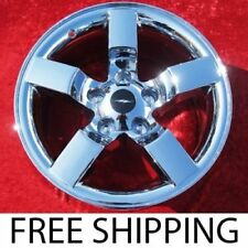 "SET OF 4 CHROME 18"" FORD F-150 LIGHTNING OEM FACTORY WHEELS RIMS EXPEDITION 3420"