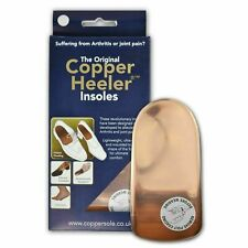2 Pairs of Original Copper Heelers Size 10-13 - Pain Relief Copper Insoles