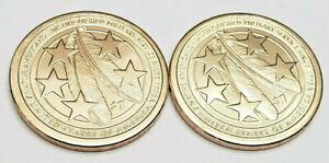 2021 P & D Sacagawea Dollar Set (2 Coins) *BU - UNCIRCULTAED*  **FREE SHIPPING**