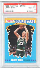 1990 Fleer All - Stars Larry Bird PSA 10