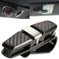 Universal Car Auto Sun Visor Glasses Sunglasses Card Ticket Holder Clip Simple