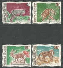 Ivory Coast 1992 Local Animals--Attractive Art Topical (920-23) fine used