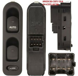 NEW OEM Saturn L LS LW Series Driver Master Power Window Switch Black 90363747