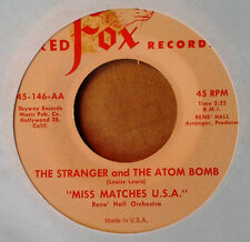 MISS MATCHES U.S.A. - THE STRANGER AND THE ATOM BOMB - RED FOX 45