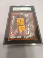 KOBE BRYANT Finest WITH COATING #74 RC SGC 9 Mint ROOKIE CARD 1996/97