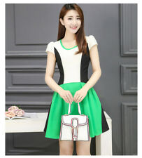 FREE SHIPPING KOREA FASHION DRESS 2018 LOOK THIN PROMO M SIZE CHEAPEST