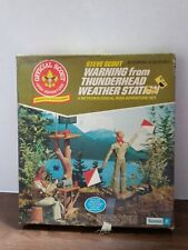 Vintage Kenner Steve Scout Warning From Thunderhead Weather Station New 1974