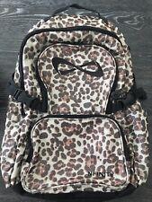Nfinity Backpack Millennial Leopard Sparkle Cheer Bookbag Cheerleader Sport