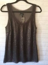 Sequin Evening, Occasion Regular Size Tanks, Camis for Women