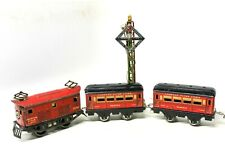 "VINTAGE PRE-WAR AMERICAN FLYER #1096 ""SEATTLE"" BOX CAB ELECTRIC TRAIN SET"
