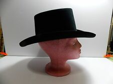 "Vintage Resistol Black Cowboy Hat ""The Dealer"" 6 3/4  4xxxx  Beaver Oval"