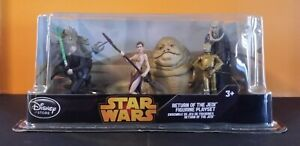 Disney Store Star Wars Return of the Jedi Figurine Playset New Sealed 6 Figures