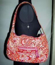 "Vera Bradley ""Sherbet"" LOT shoulder bag purse zip wallet Molly mini bowler THREE"