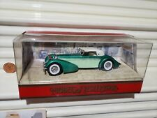 MATCHBOX MODELS OF YESTERYEAR 1990 Y17 GREEN HISPANO SUIZA PRESS FIT Wheels NuIB