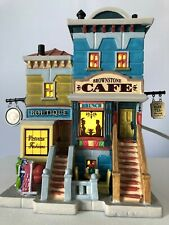 Lemax 2019 Brownstone Cafe' #95518 Nib