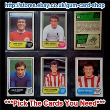 A&BC 1969 GREEN BACK - 1ST SERIES (FAIR 1 TO 64) *PICK THE CARDS YOU NEED*