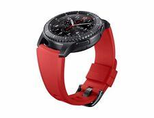 Samsung Armband ET-YSU76 (Silikon) für Gear S3 22mm Orangerot