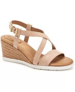 Giani Bernini- Dellie Espadrille Memory Foam Wedge Sandals- Size 11- Brand New!