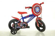 "Dino Captain America 12"" Mag Wheel Red Kids Boys Bike Bicycle 1 Speed 412UL-CA"