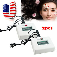 2pcs Wood Lamp Skin Care Uv Magnifying Analyzer Beauty Facial Spa Salon Machine