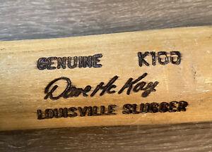 DAVE McKAY #39 OAKLAND ATHLETICS A'S PLAYER USED BROKEN BASEBALL BAT